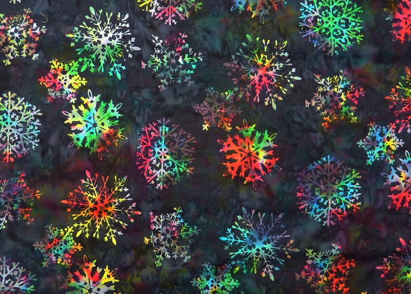 - ✂ Patchworkstoff Meterware  wunderschöner Batikstoff Feuerwerk - ✂ Patchworkstoff Meterware  wunderschöner Batikstoff Feuerwerk