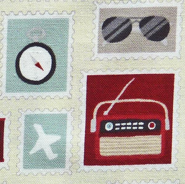 Kleinesbild - ✂ Patchworkstoff Meterware  stoffabrics Slow Travel 15-52