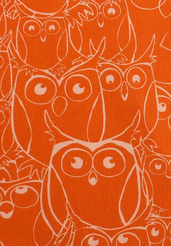 Kleinesbild - ✂ Patchworkstoff Meterware Paintbrush Studio Nite Owls orange