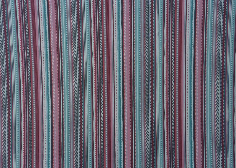 Kleinesbild - ✂ Patchworkstoff Meterware The Henley Studio Flo´s Garden Stripes