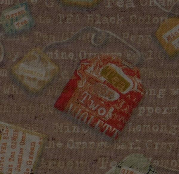 Kleinesbild - ✂ Patchworkstoff Meterware Linda Maron Tea Time