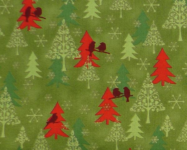 Kleinesbild - ✂ Patchworkstoff Meterware Weihnachtsstoffe Stof Christman Story 12-97
