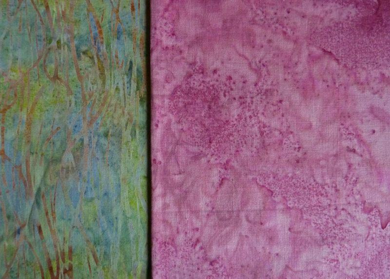 - ✂ Stoffpaket schöner Batik Mix gemustert und uni - ✂ Stoffpaket schöner Batik Mix gemustert und uni