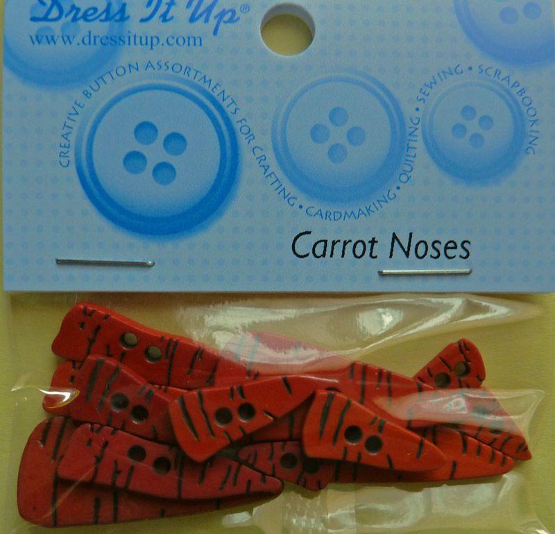 - ✂ Dress It Up Carrot Noses in verschiedenen Größen - ✂ Dress It Up Carrot Noses in verschiedenen Größen