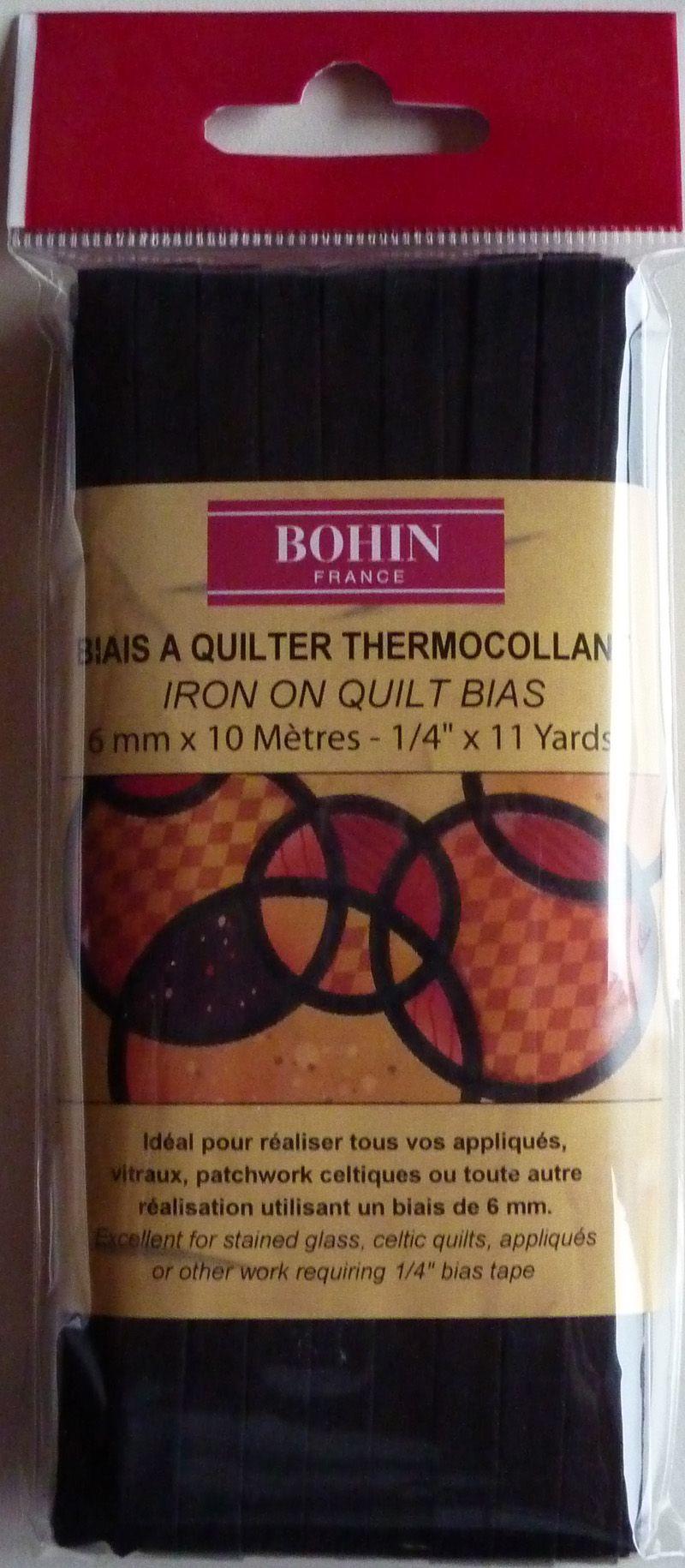 - ✂ Bohin Quick Bias Quiltband für Celtic-Quilts - ✂ Bohin Quick Bias Quiltband für Celtic-Quilts