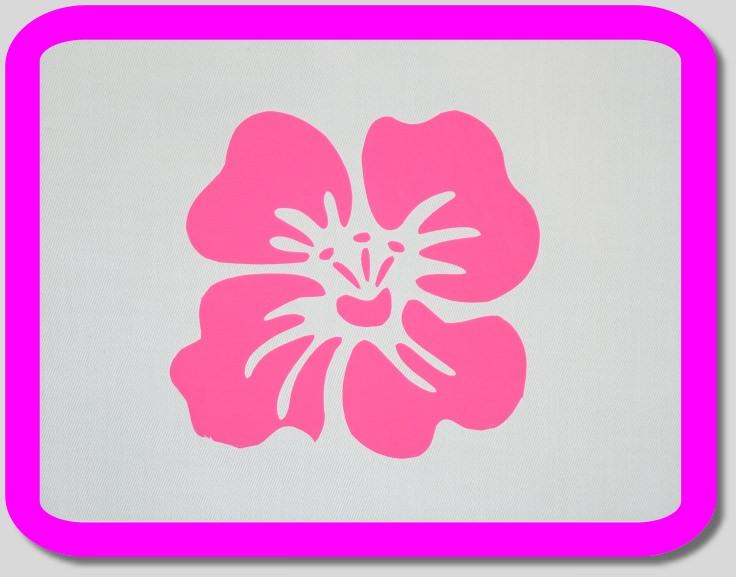 """Kleinesbild - Scheibengardine """"Nostalgie / Blüte - pink """" Nr. 263"""