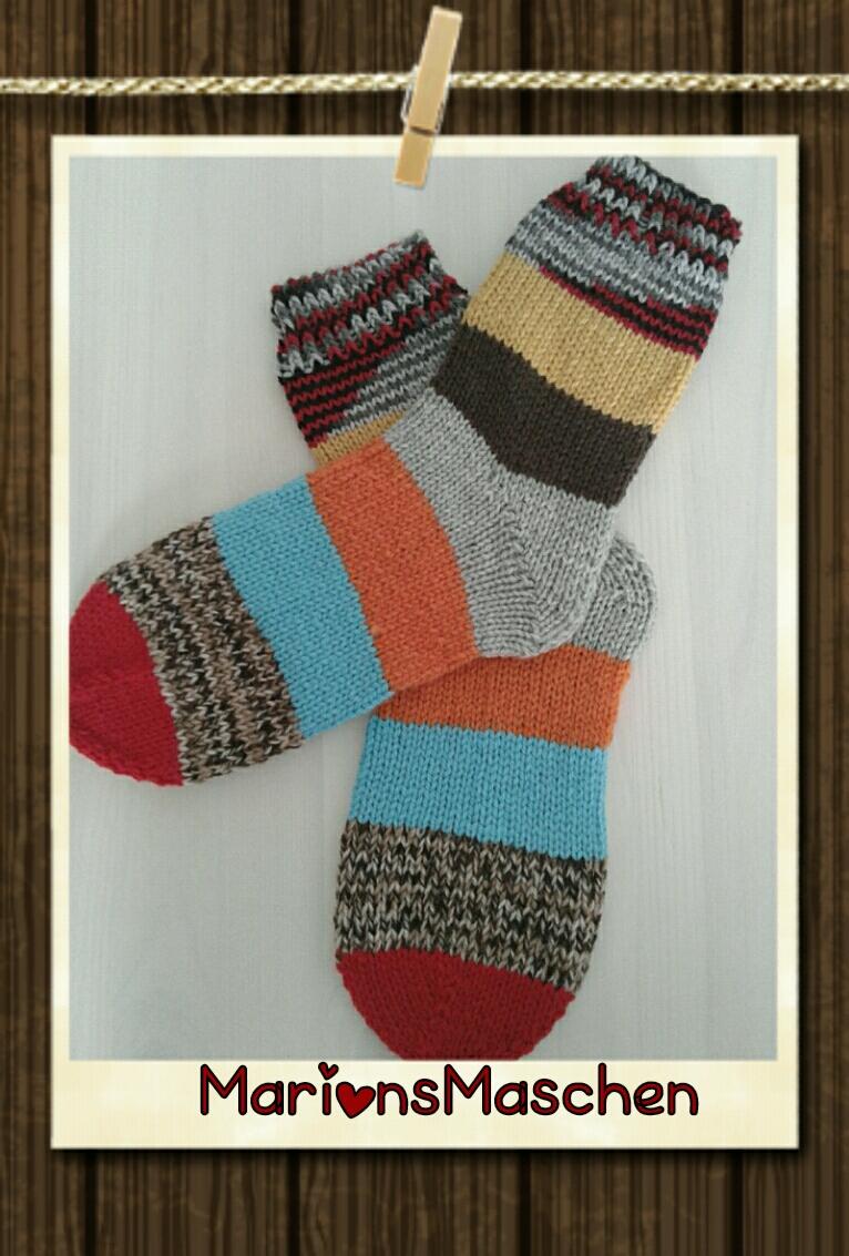 - Handgestrickte Socken für jung und alt - kunterbunt - Handgestrickte Socken für jung und alt - kunterbunt