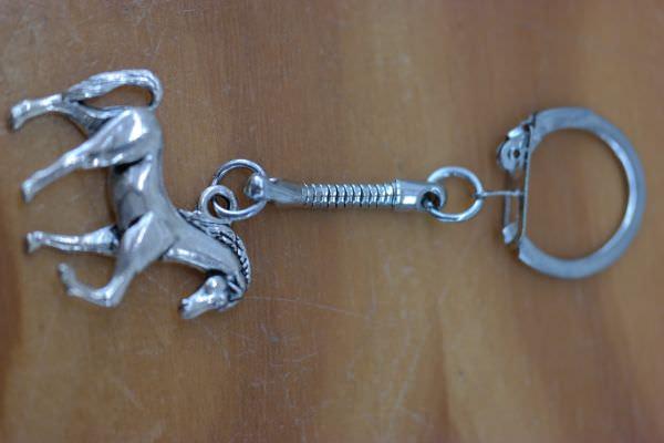 - Schlüsselanhänger mit Pferd   - Schlüsselanhänger mit Pferd