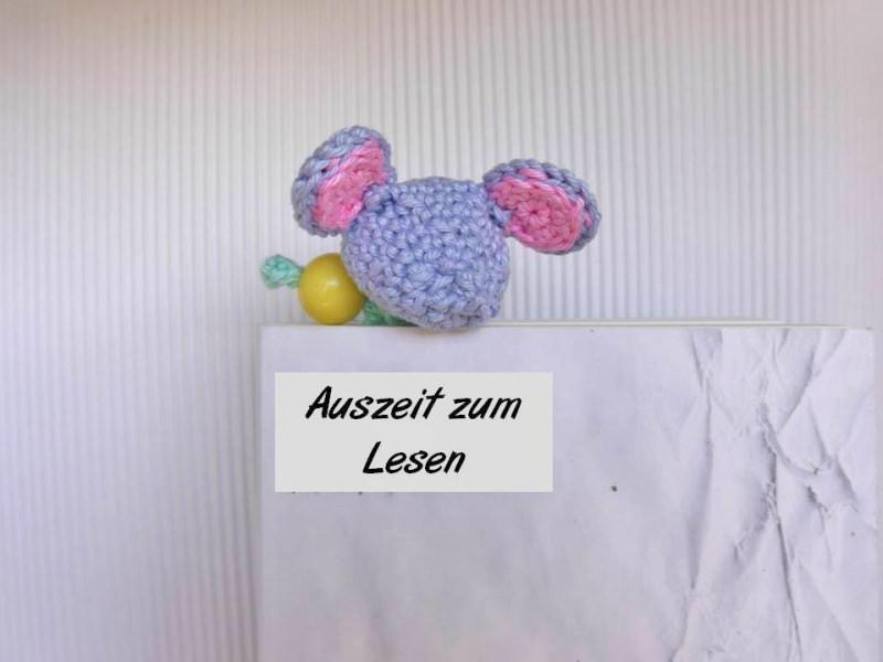 - Lesezeichen Maus Häkelanleitung ☆ Amigurumi als Lesezeichen  - Lesezeichen Maus Häkelanleitung ☆ Amigurumi als Lesezeichen
