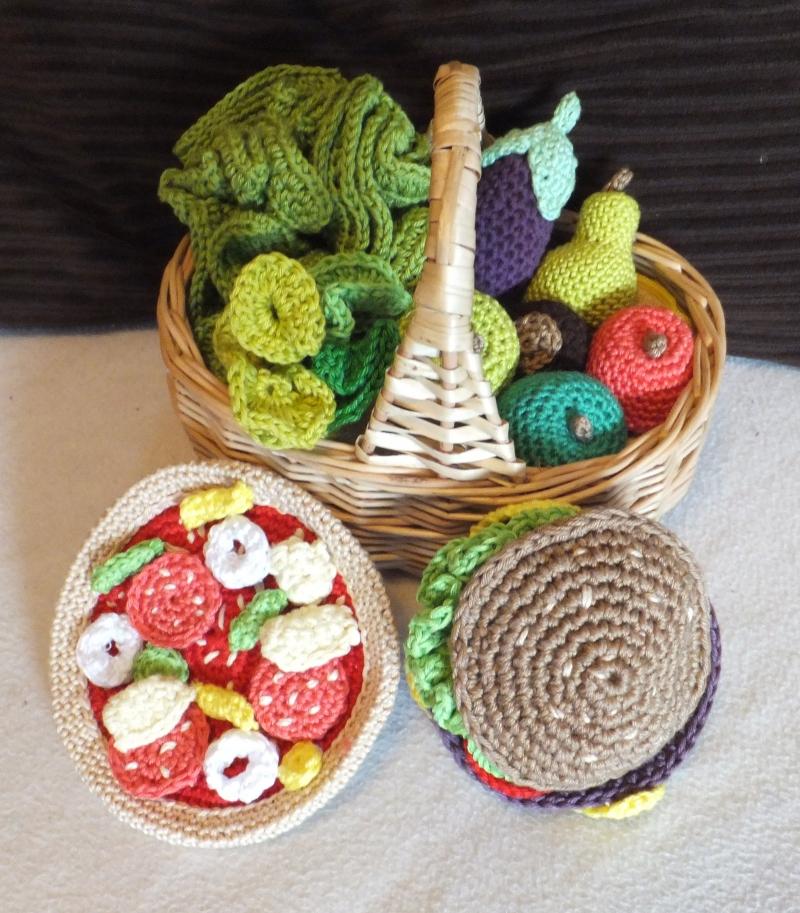 Kleinesbild - Kaufladen Puppenküche ☆ Häkelanleitung ☆ auch für Anfänger
