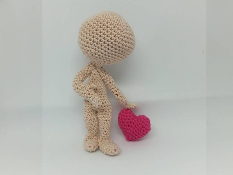 Kleinesbild - Faceless Heartbreaker Sam ☆ Häkelanleitung  ☆  auch für Anfänger