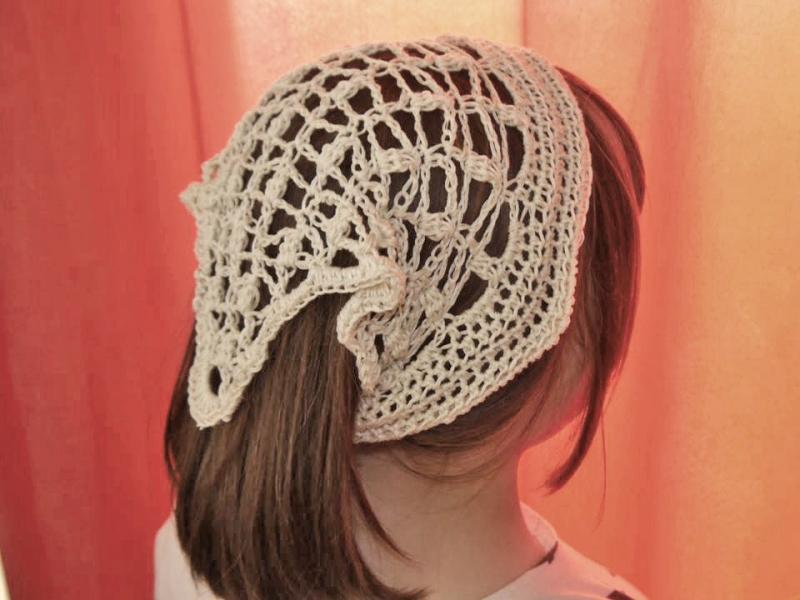 Kleinesbild - Haartücher ☆ Häkelanleitung  ☆  auch für Anfänger