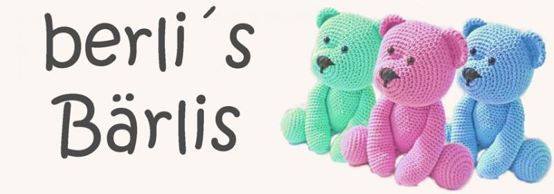 Kleinesbild - Teddy berli´s Bärli ☆ Häkelanleitung ☆ auch für Anfänger