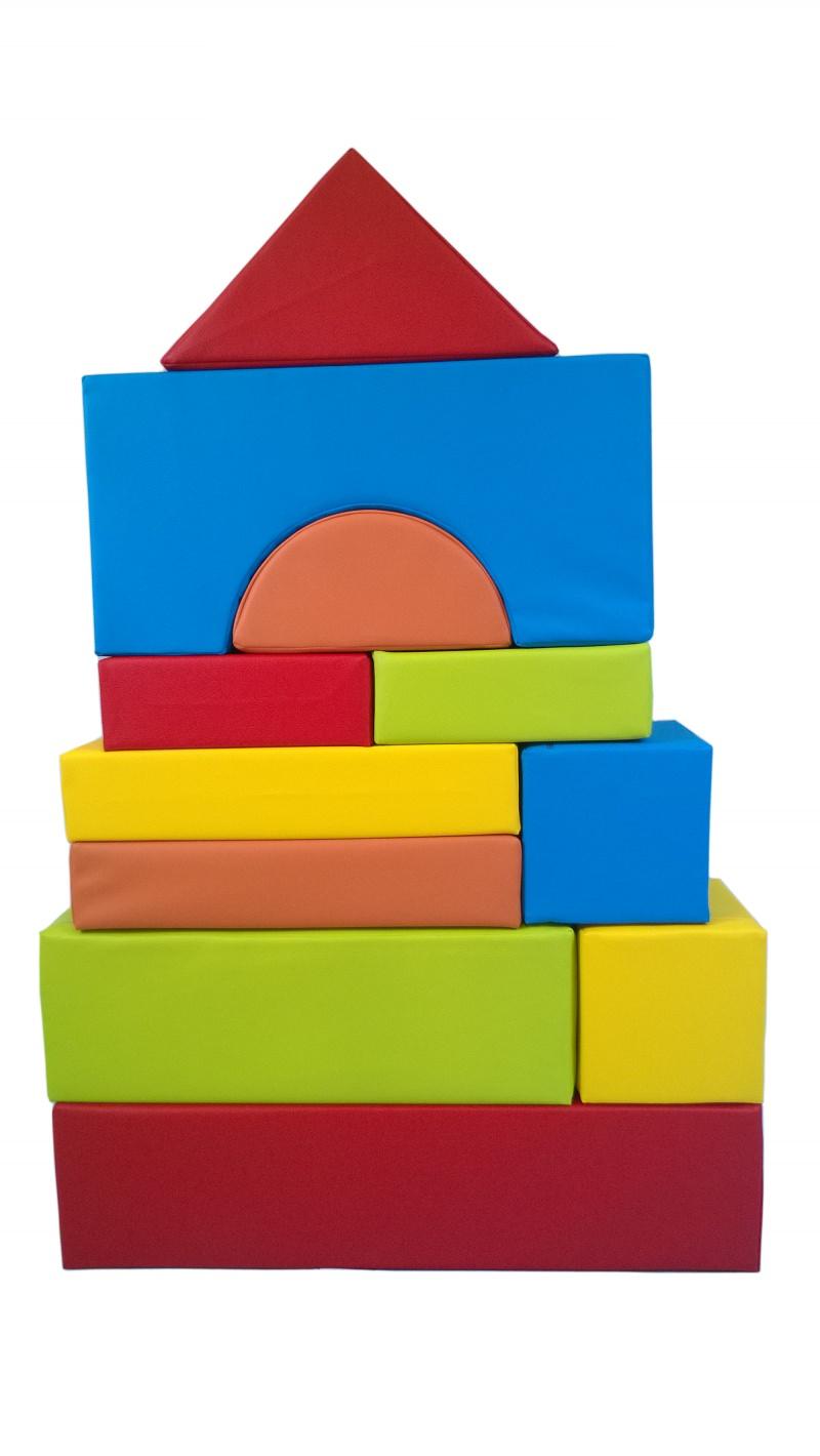 spielsachen : 11 xxl softbausteine, schaumstoffbausteine, bauklötze