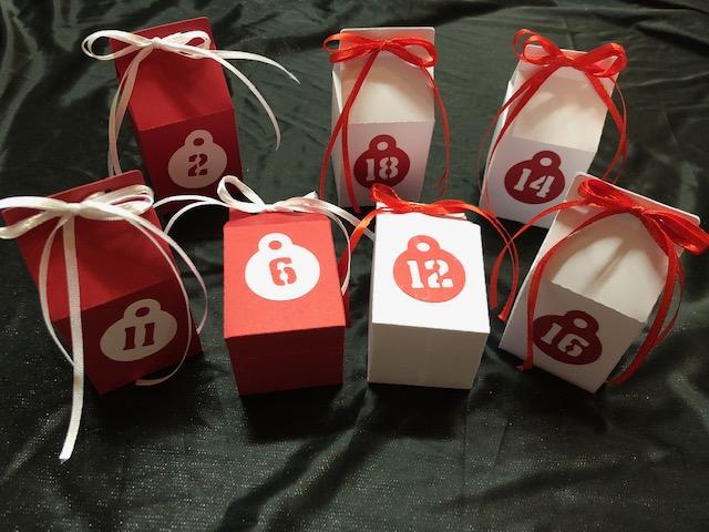 - Adventskalender ★ 24 Schachteln ★ DIY zum basteln und selber befüllen - Adventskalender ★ 24 Schachteln ★ DIY zum basteln und selber befüllen