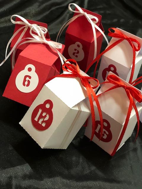 Kleinesbild - Adventskalender ★ 24 Schachteln ★ DIY zum basteln und selber befüllen