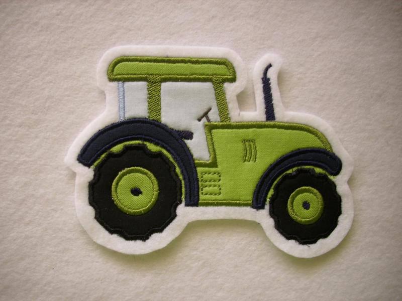Kleinesbild - Traktor ♥  Schlepper ♥ Applikation ♥ Aufnäher ♥
