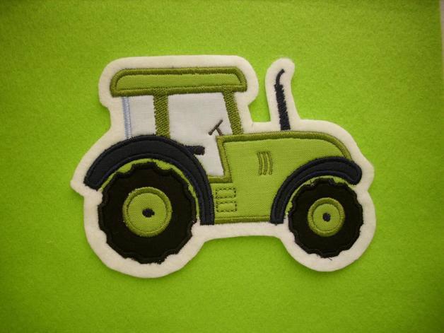 - Traktor ♥  Schlepper ♥ Applikation ♥ Aufnäher ♥   - Traktor ♥  Schlepper ♥ Applikation ♥ Aufnäher ♥