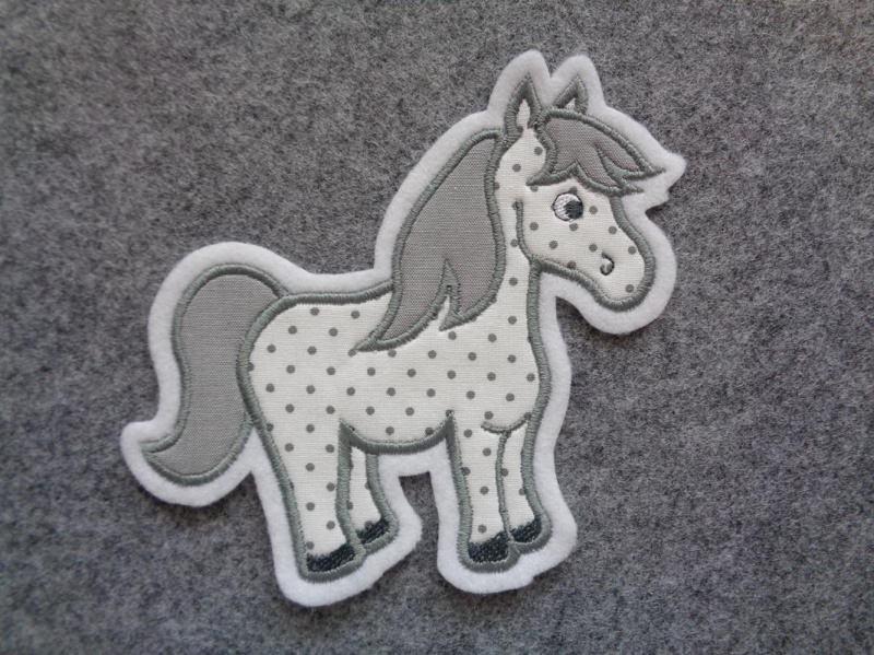 - Pony ♡ Pferd ♡  Applikation ♡  Aufnäher  - Pony ♡ Pferd ♡  Applikation ♡  Aufnäher