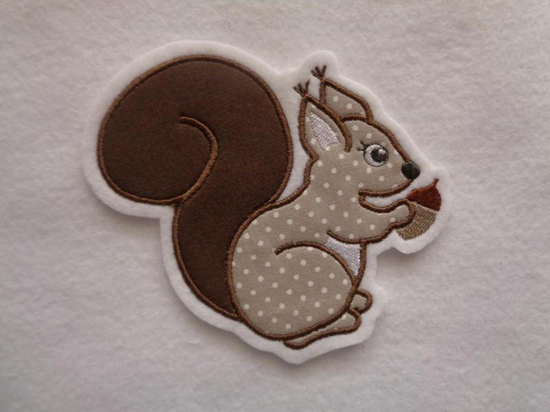 - Eichhörnchen ☆ Aufnäher ☆ Applikation  - Eichhörnchen ☆ Aufnäher ☆ Applikation