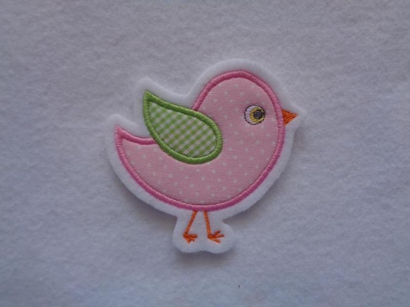 - Süsses Vögelchen ☆☆  Applikation ☆☆ Aufnäher☆☆  - Süsses Vögelchen ☆☆  Applikation ☆☆ Aufnäher☆☆