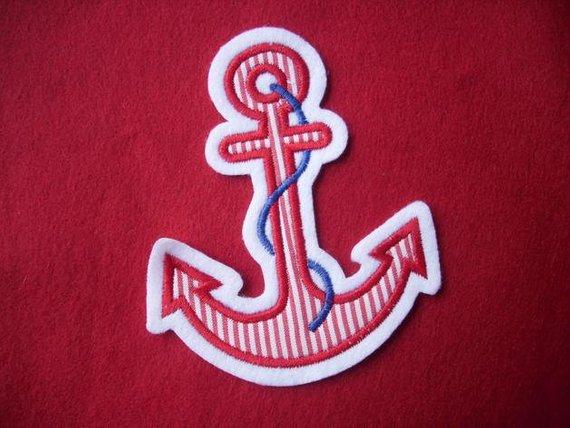 Kleinesbild - ♥ Anker ♥ Applikation ♥ Aufnäher ♥ maritim ♥ rotKopie id: 100013095) (Kopie id: 100096747)
