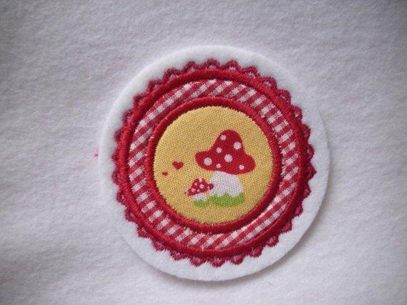 - Mini-Button Pilz ♥ Applikation ♥ Aufnäher♥  (Kopie id: 100125256) - Mini-Button Pilz ♥ Applikation ♥ Aufnäher♥  (Kopie id: 100125256)