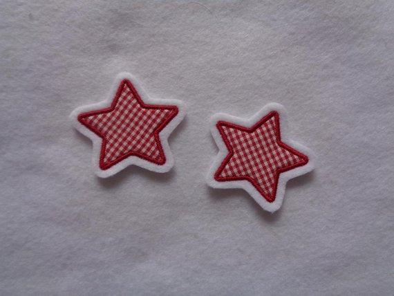 - Applikation/Aufnäher ♥  2-er Set kleine Sternchen - Applikation/Aufnäher ♥  2-er Set kleine Sternchen