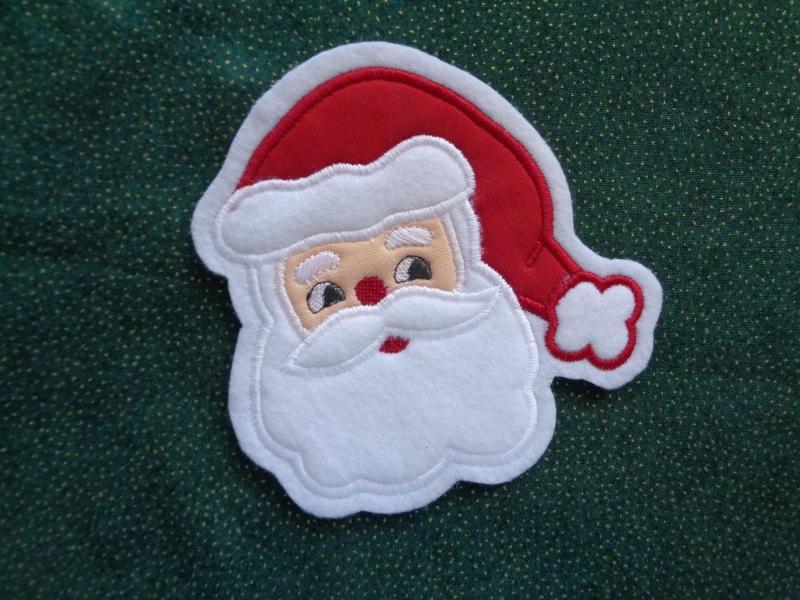 Kleinesbild - süsser Nikolaus / Weihnachtsmann ♥ Aufnäher ♥ Applikation (Kopie id: 100133189) (Kopie id: 100145038)