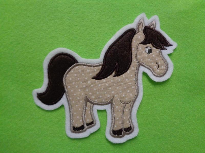 Kleinesbild - Pony ♡ Pferd ♡  Applikation ♡  Aufnäher