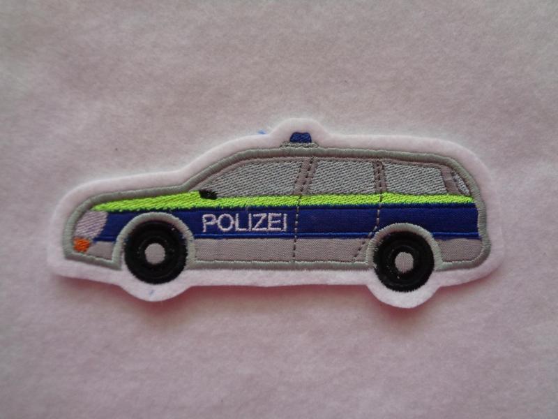 -  ♥  Polizeiauto ♥   Applikation ♥ Aufnäher ♥   -  ♥  Polizeiauto ♥   Applikation ♥ Aufnäher ♥