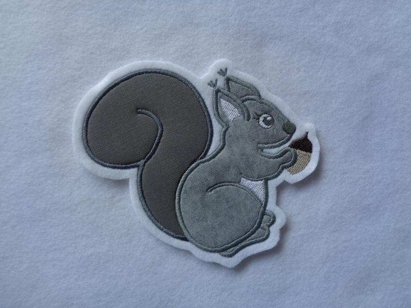 Kleinesbild - Eichhörnchen ☆ Aufnäher ☆ Applikation