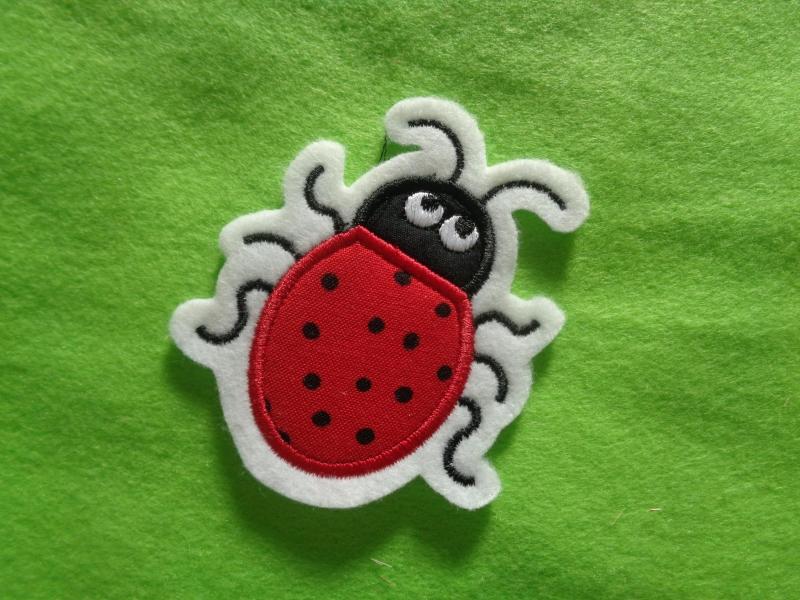 Kleinesbild - Süsser Käfer ☆ Applikation ☆ Aufnäher oder zum Aufbügeln
