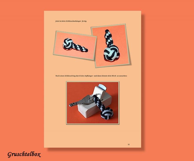 Kleinesbild - Anleitung  Schlüsselanhänger mit Diamantknoten , PDF Datei
