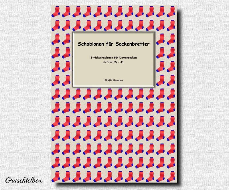 - Schablonen für Sockenbretter, Strickschablonen für Damensocken, Grösse 35 - 41, PDF Datei - Schablonen für Sockenbretter, Strickschablonen für Damensocken, Grösse 35 - 41, PDF Datei