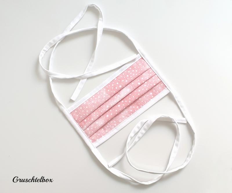 Kleinesbild -  Mehrweg Mund-Nasen-Maske 2-lagig aus Baumwolle für Kinder und Erwachsene
