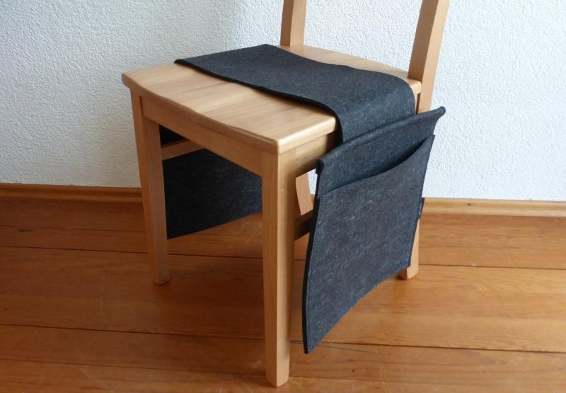 - Doppelnotentasche, Notentasche, für den Stuhl, doppelt, anthrazit, Tischharfe, Veeh Harfe, reiner Wollfilz, handgemacht von Dieda! - Doppelnotentasche, Notentasche, für den Stuhl, doppelt, anthrazit, Tischharfe, Veeh Harfe, reiner Wollfilz, handgemacht von Dieda!
