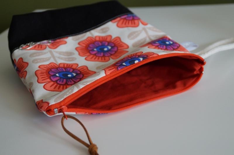 Kleinesbild -  Kosmetik Tasche/ Cluch farbenfroh und fröhlich  ♥