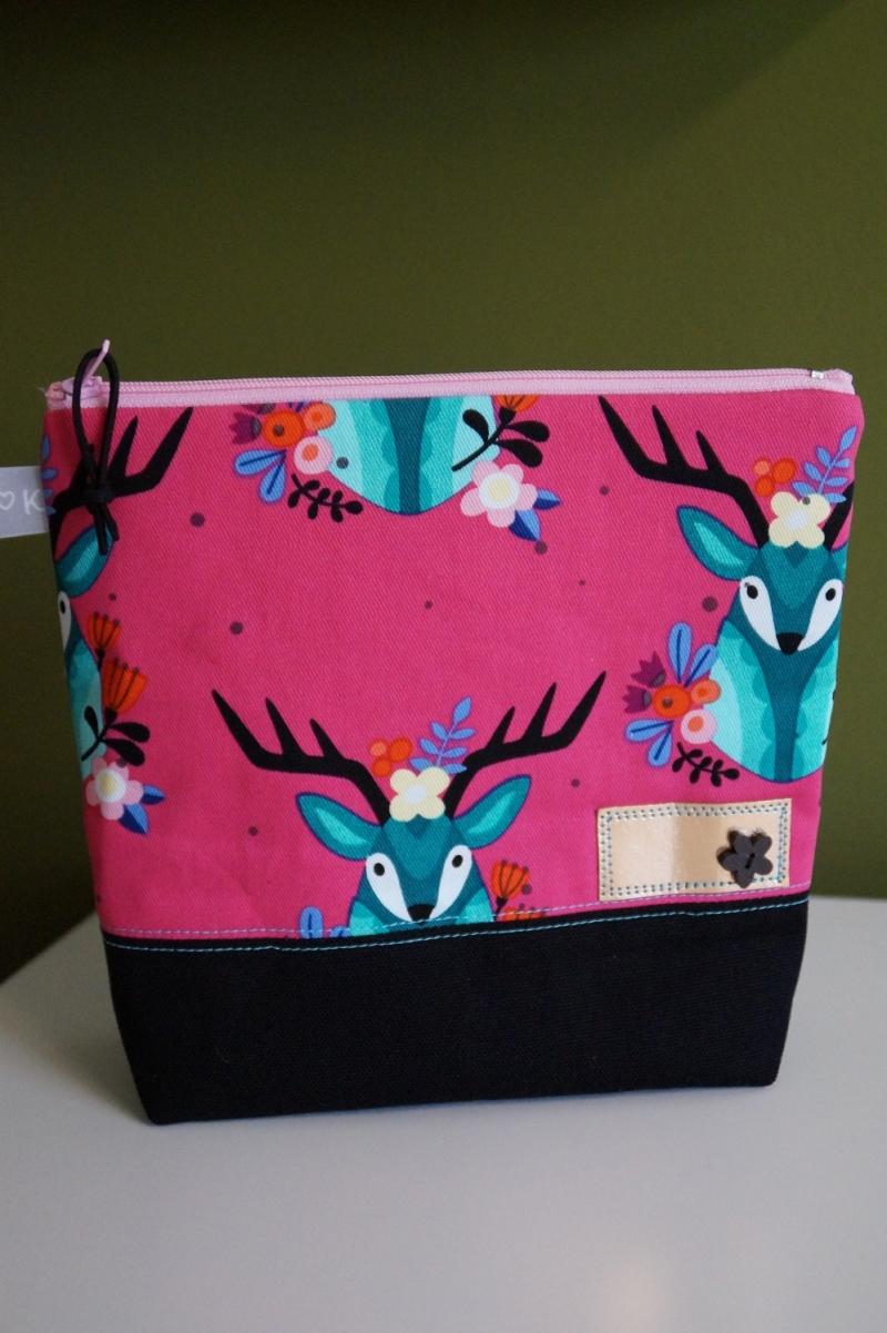 -  Kosmetik Tasche farbenfroh und fröhlich  ♥    -  Kosmetik Tasche farbenfroh und fröhlich  ♥