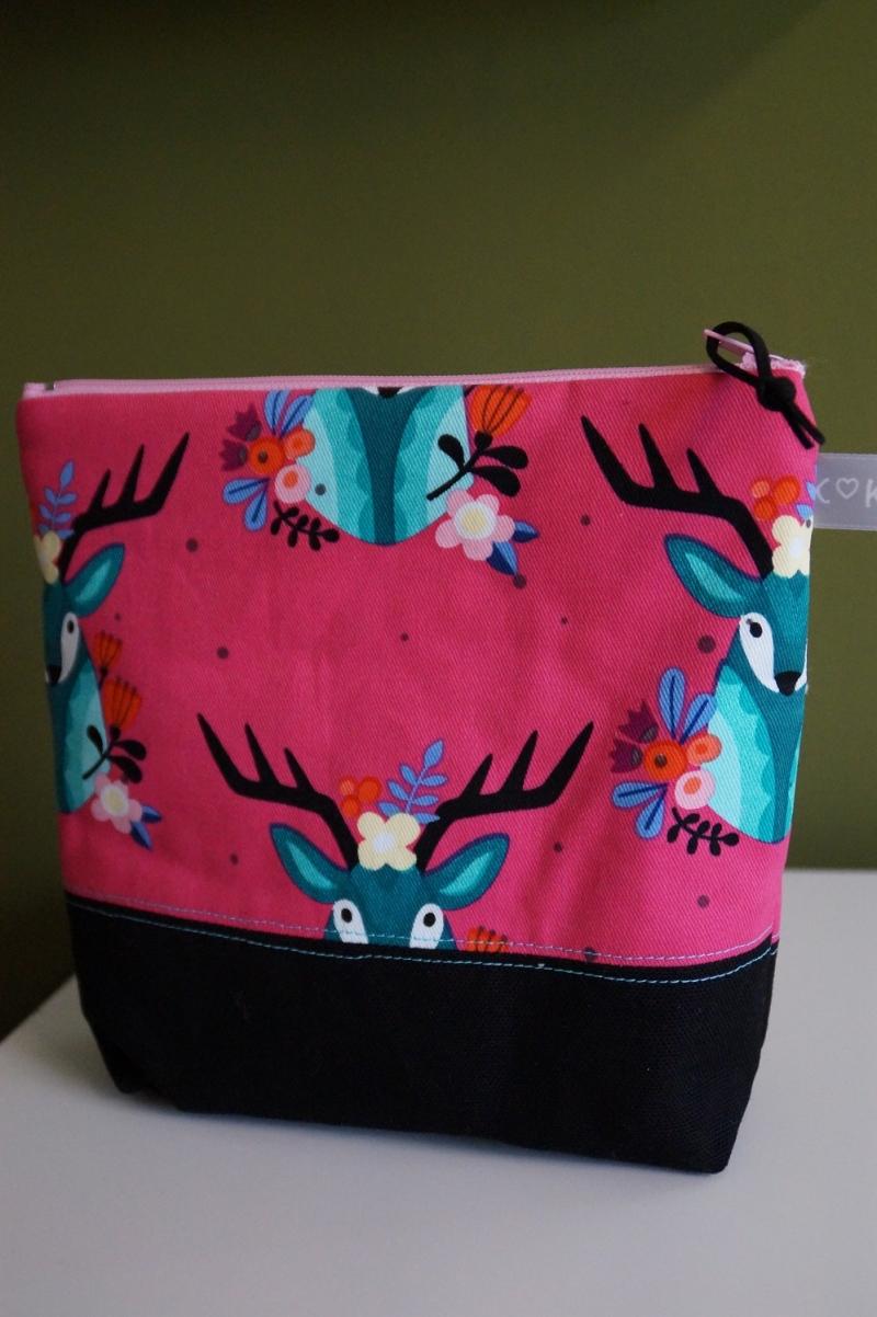 Kleinesbild -  Kosmetik Tasche farbenfroh und fröhlich  ♥