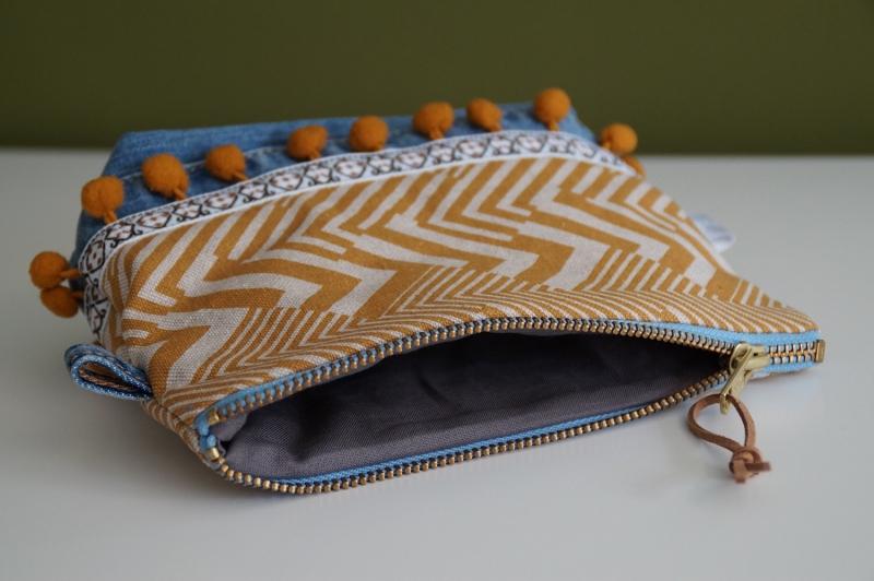 """Kleinesbild - Upcyling Kosmetik Tasche """"Bag in Bag"""""""
