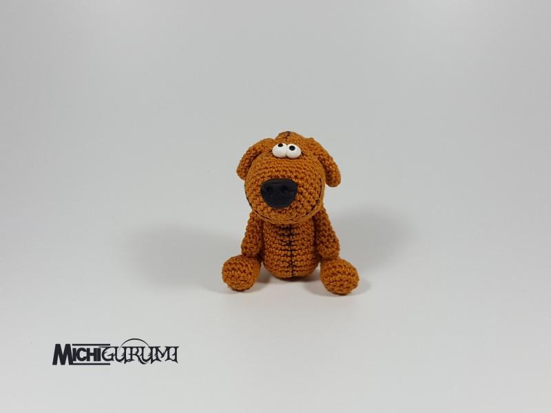 Häkelanleitungen : Häkelanleitung: Mini-Hund