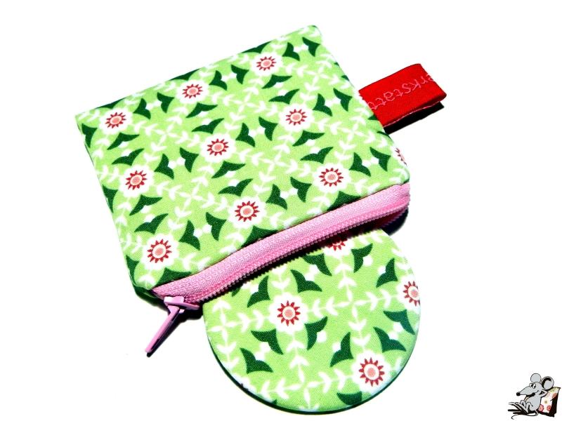 - Taschenspiegel-Set *kleine Blümchen* hellgrün ♥Mäusewerkstatt♥ - Taschenspiegel-Set *kleine Blümchen* hellgrün ♥Mäusewerkstatt♥