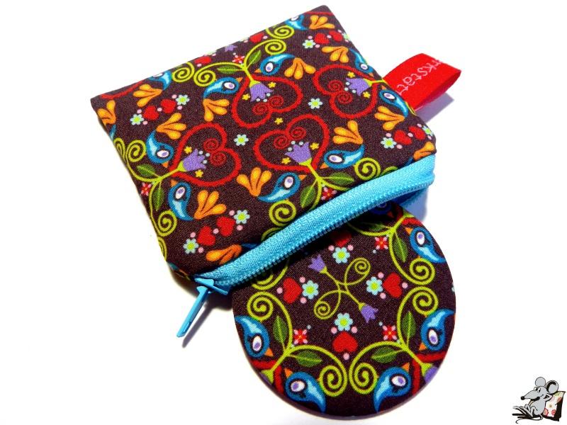 - Taschenspiegel-Set *chirp ornament* ♥Mäusewerkstatt♥ - Taschenspiegel-Set *chirp ornament* ♥Mäusewerkstatt♥