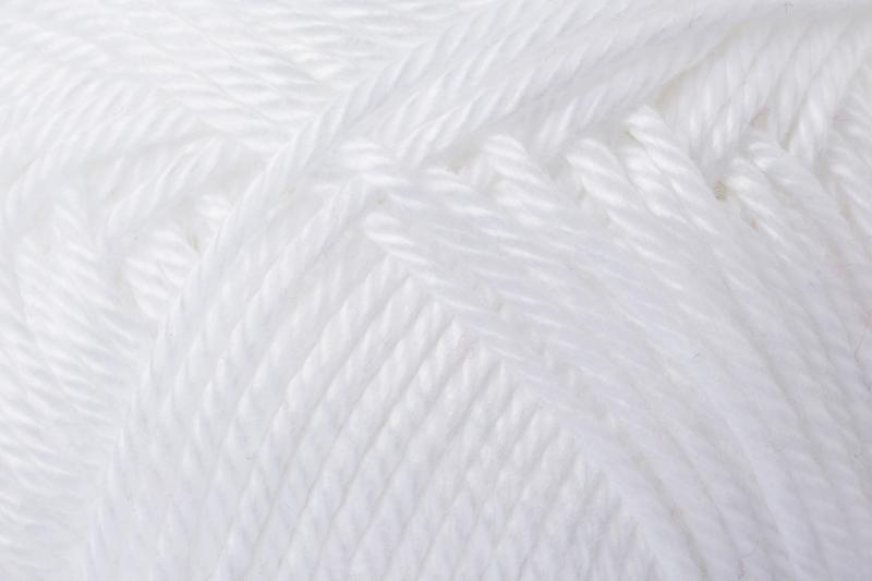 - Catania No. 106 weiss (von Schachenmayr) 100% Baumwolle ♥Mäusewerkstatt♥  - Catania No. 106 weiss (von Schachenmayr) 100% Baumwolle ♥Mäusewerkstatt♥