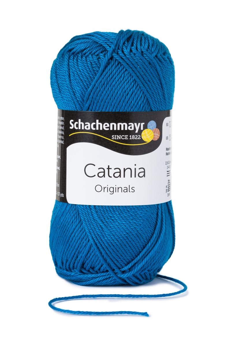 Kleinesbild - Catania No. 400 ocean (von Schachenmayr) 100% Baumwolle ♥Mäusewerkstatt♥