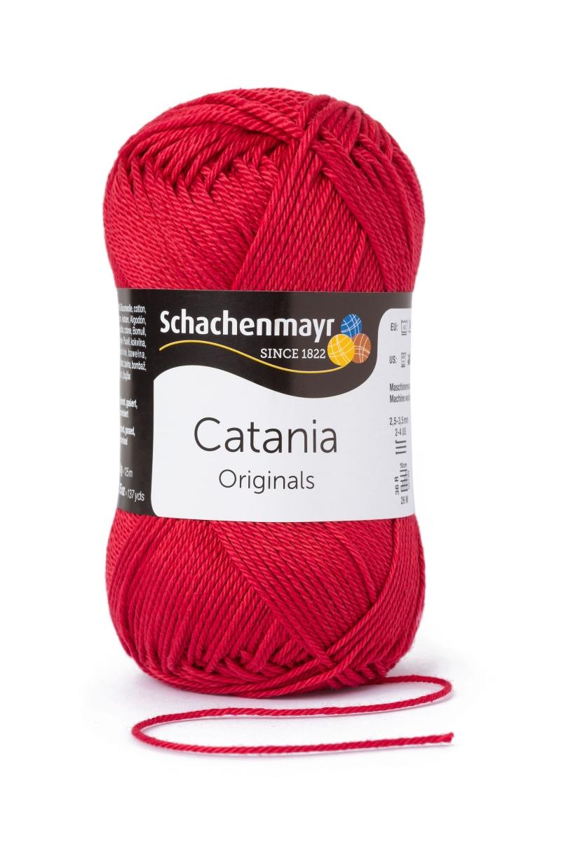 Kleinesbild - Catania No.424 kirsche (von Schachenmayr) 100% Baumwolle ♥Mäusewerkstatt♥