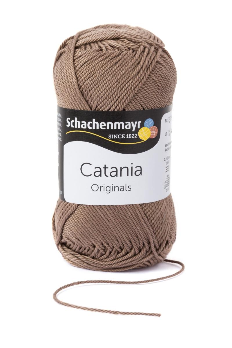 Kleinesbild - Catania No. 254 taupe (von Schachenmayr) 100% Baumwolle ♥Mäusewerkstatt♥