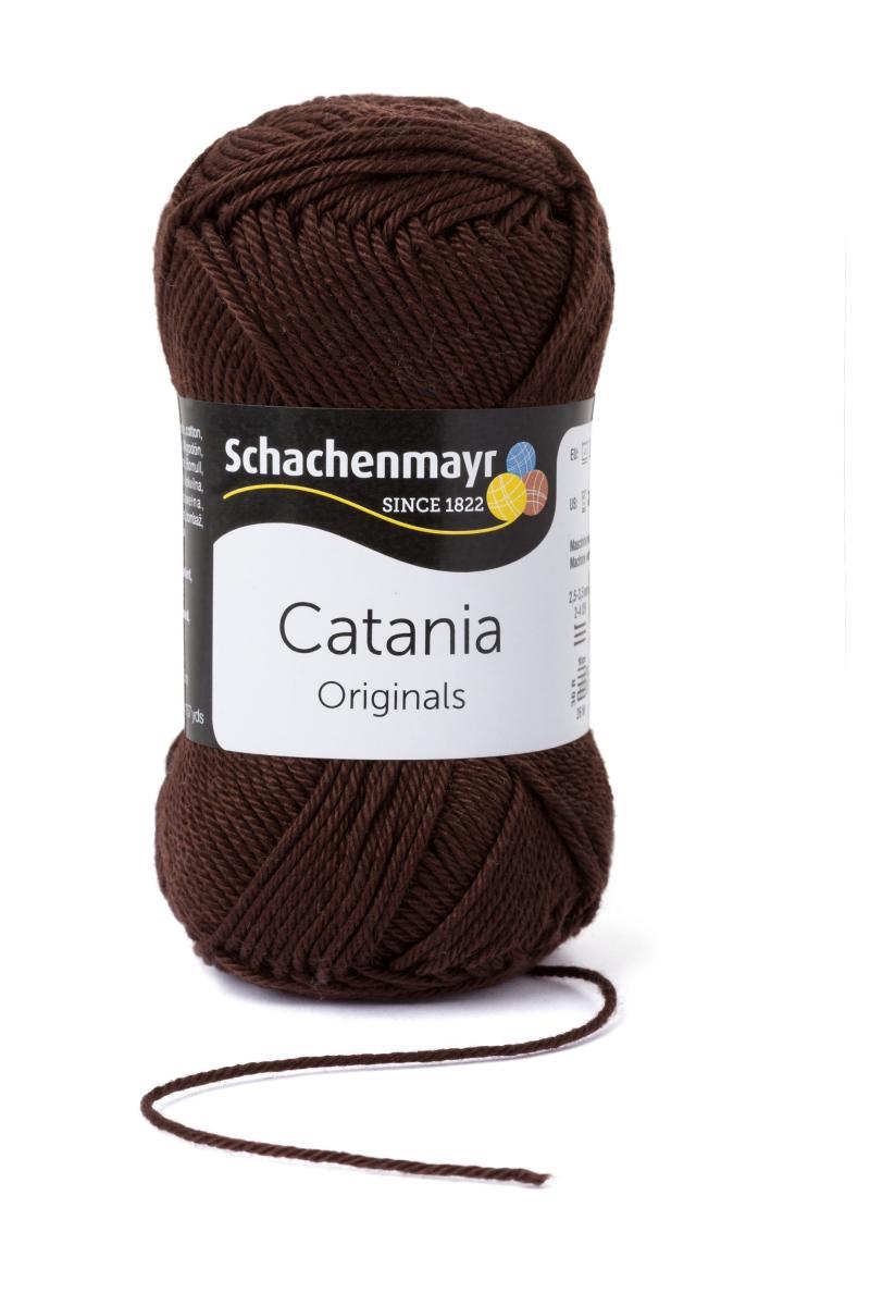 Kleinesbild - Catania No. 162 kaffee (von Schachenmayr) 100% Baumwolle ♥Mäusewerkstatt♥
