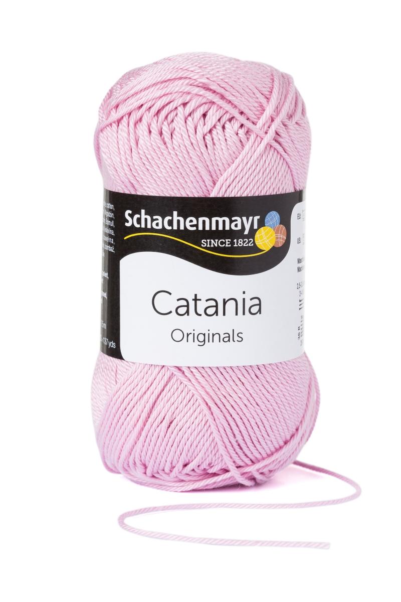 Kleinesbild - Catania No.246 rosa 100% Baumwolle (von Schachenmayr) ♥Mäusewerkstatt♥